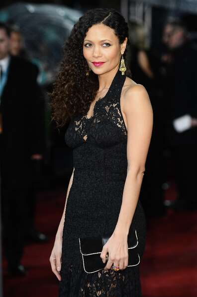 Thandie Newton attends the EE British Academy Film Awards at The Royal Opera House on February 10, 2