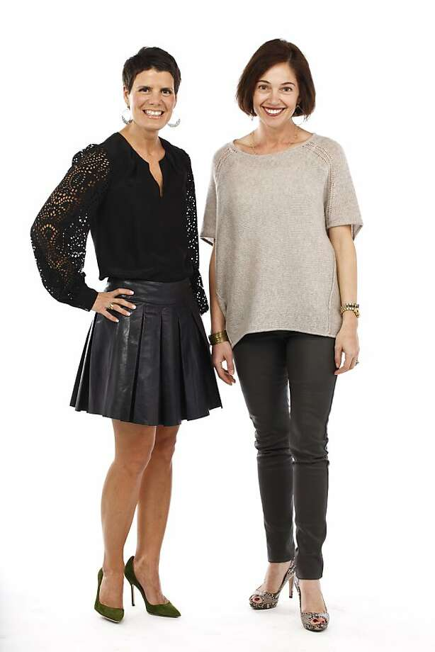 STYLEMAKER SPOTLIGHT: NANCY EVARS AND DIMITRA ANDERSON Photo: Russell Yip, The Chronicle