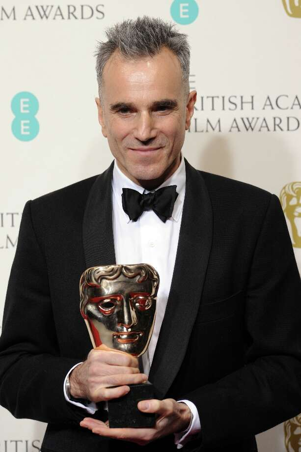 Daniel Day-Lewis, winner of the Leading Actor award for 'Lincoln', poses in the press room at the EE British Academy Film Awards at The Royal Opera House on February 10, 2013 in London, England. Photo: Stuart Wilson, Getty Images / 2013 Getty Images