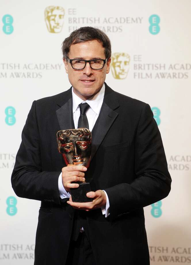 David O. Russell, winner of the Adapted Screenplay award for Silver Linings Playbook, poses in the press room at the EE British Academy Film Awards at The Royal Opera House on February 10, 2013 in London, England. Photo: Stuart Wilson, Getty Images / 2013 Getty Images