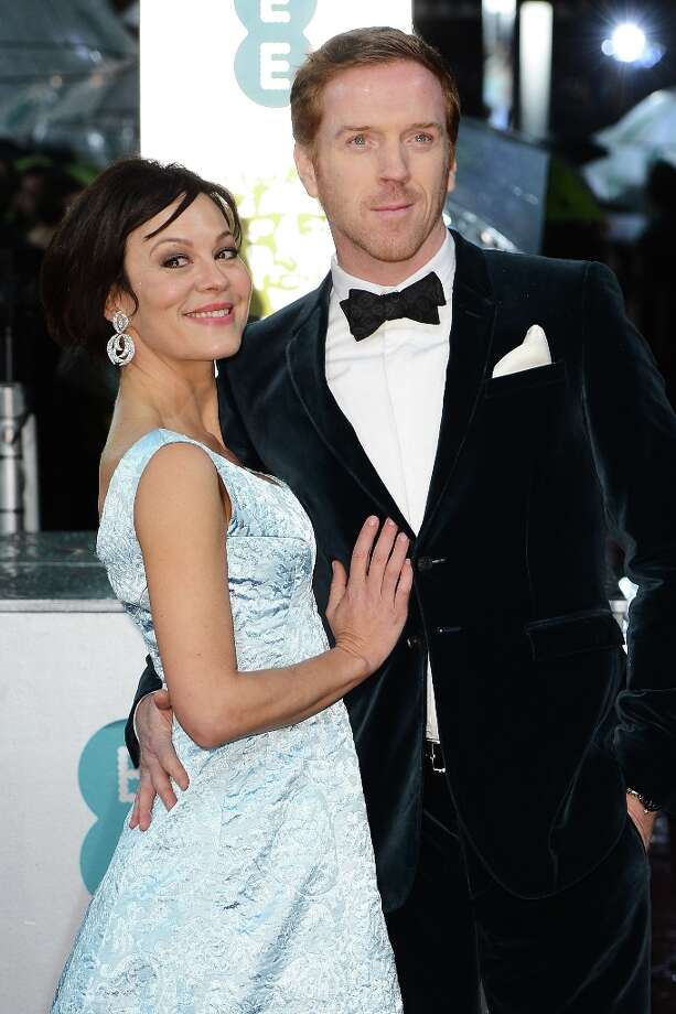 Damian Lewis (R) and Helen McCrory attend the EE British Academy Film Awards at The Royal Opera House on February 10, 2013 in London, England. Photo: Ian Gavan, Getty Images / 2013 Getty Images