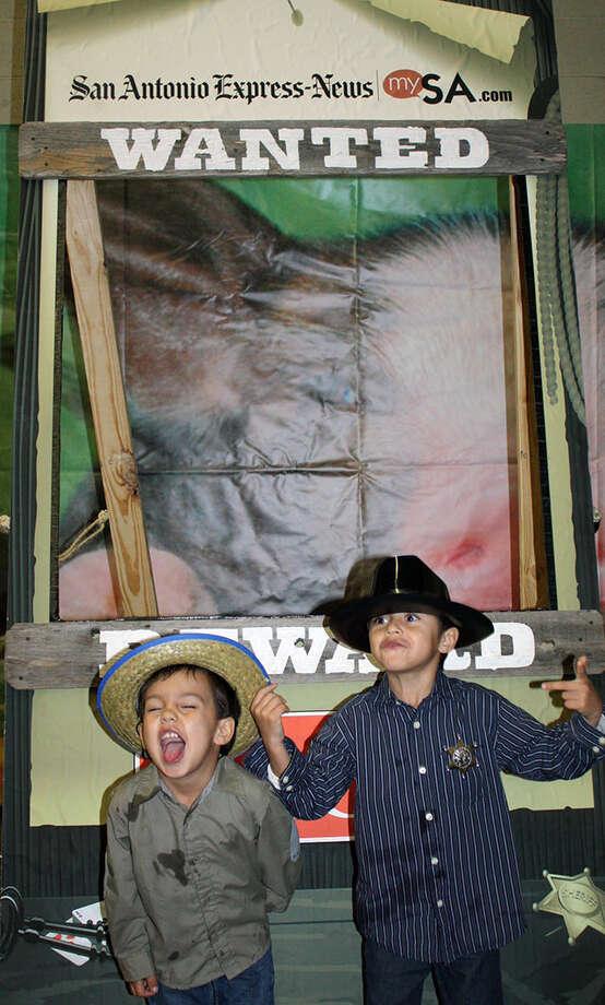 San Antonio Stock Show & Rodeo – Saturday, February 9, 2013 Photo: ù…, San Antonio Express-News