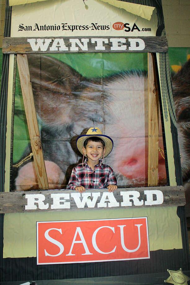 San Antonio Stock Show & Rodeo – Saturday, February 9, 2013 Photo: San Antonio Express-News