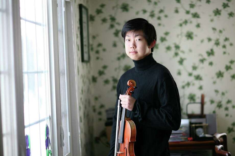 Alexander Yokokawa, 17, of Fairfield was the winner of the Stamford Symphony's instrumental scholarship competition and will perform on Saturday, Feb. 16, at the Palace in Stamford. Photo: Contributed