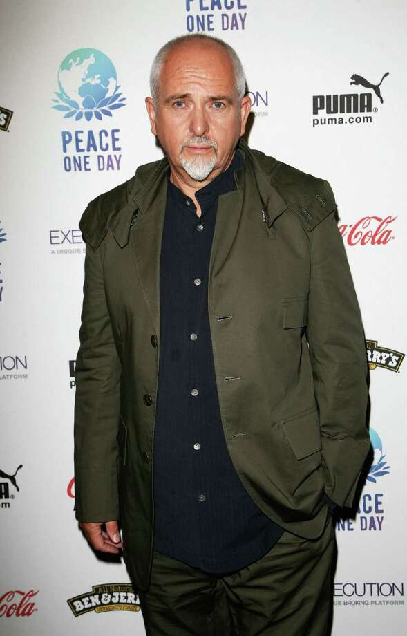 Peter Gabriel poses at the Peace One Day Concert at the Royal Albert Hall on September 21, 2008 in London, England. Photo: Tim Whitby, Getty Images / 2008 Getty Images