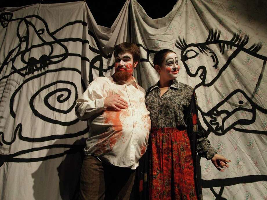 "Sam Weiner (from left) and Abigail Entsminger star in the Aesthetic of Waste's ""Fatboy."" Courtesy Eva Thompson Photo: Courtesy Eva Thompson"