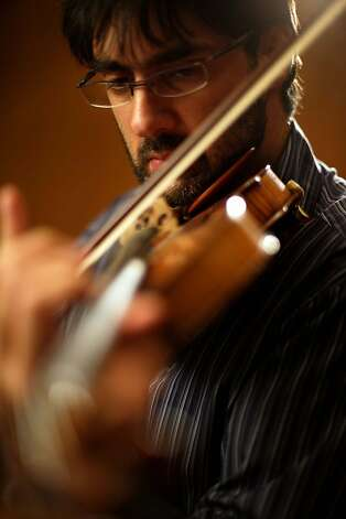 Violinist Leonidas Kavakos will perform with the San Francisco Symphony. Photo: Yannis Bournias