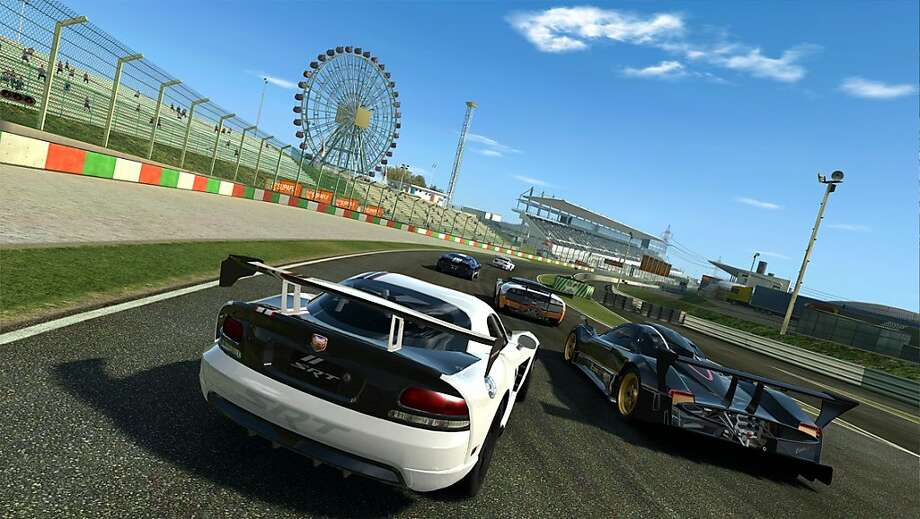 Real Racing 3 by EA Mobile is a mobile racing game for Android, iPad, iPhone and iPod Touch. Photo: Electronic Arts