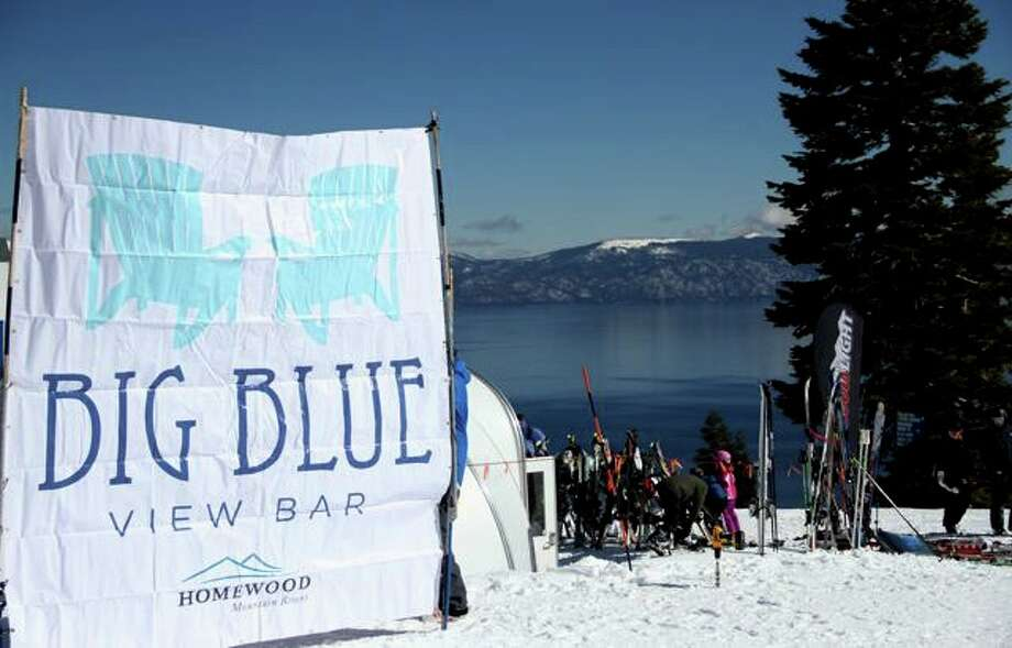 It's big. It's blue. And it's got a view. (Justin Dohms/Special to The Chronicle)