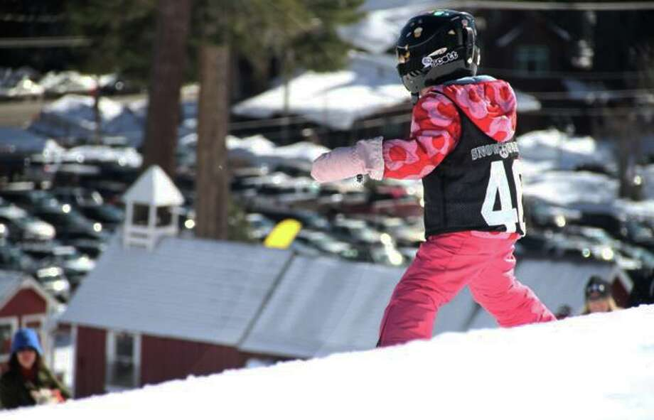Another little ripper at Homewood, Feb. 2013. (Justin Dohms/Special to The Chronicle)