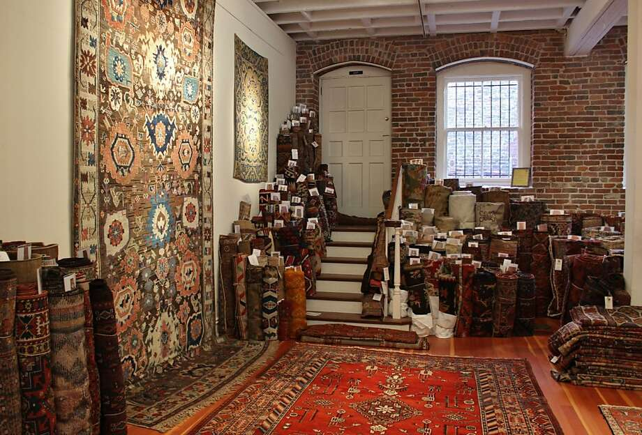 Peter Pap Oriental Rugs Photo: Stephanie Wright Hession
