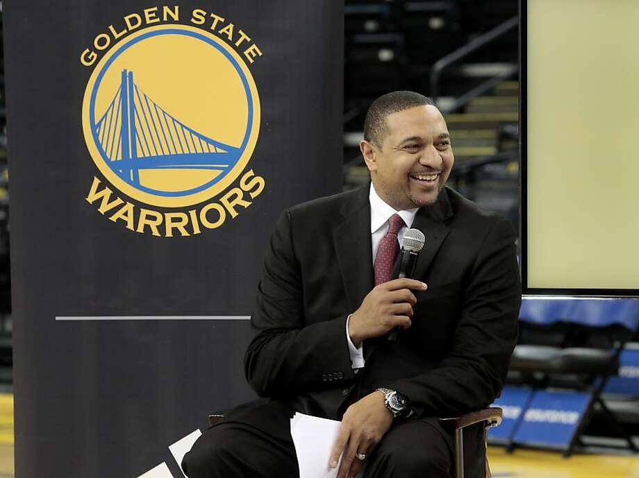 Warriors head coach Mark Jackson said the players like the new uniforms. The Golden State Warriors and Adidas unveiled a new lightweight uniform for the team Monday February 11, 2013. The adizero short sleeve NBA uniform is 26 percent lighter than the current uniforms. Photo: Brant Ward, The Chronicle