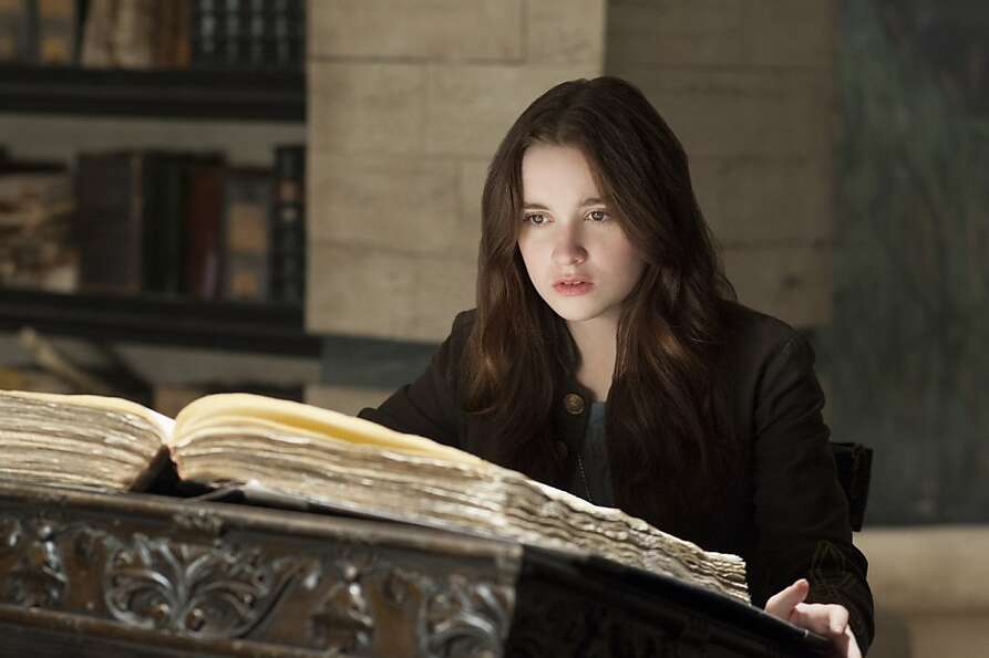 This film image released by Warner Bros. Pictures shows Alice Englert in a scene from