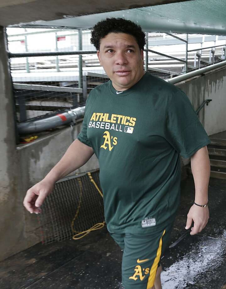 Bartolo Colon has five games left in his suspension. Photo: Darron Cummings, Associated Press
