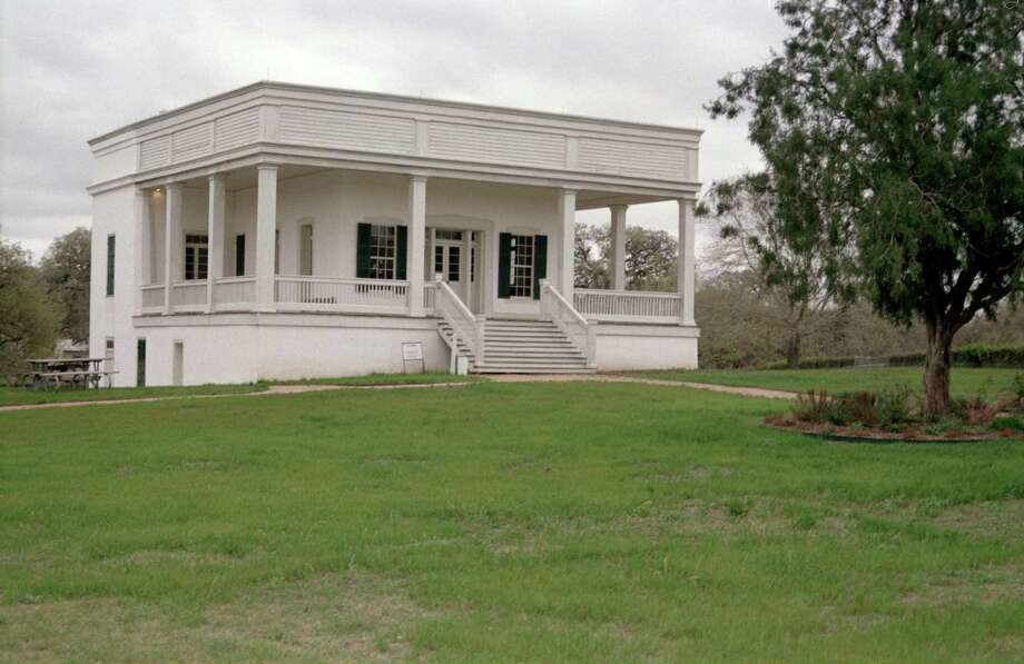 Sebastopol, an antebellum home constructed largely of concrete, is a former state park that has been transferred to the city of Seguin to operate. Photo: Dee Jacques Moynihans / restricted