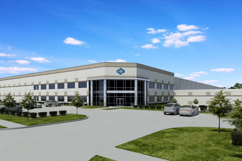 This rendering shows the north Houston warehouse with office space that the Houston branch of shipping logistics company GAC will occupy. Photo: GAC