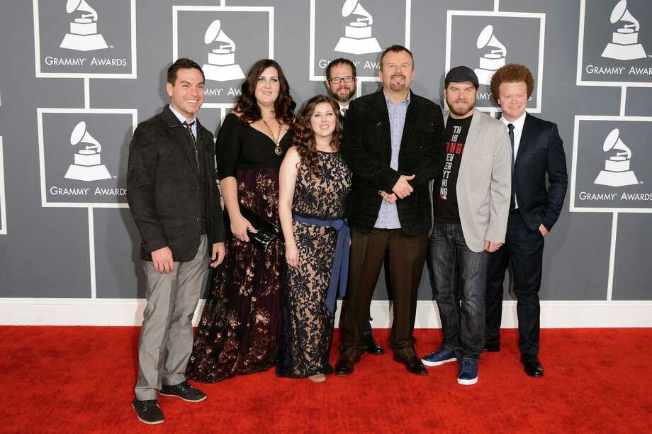"Casting Crowns, shown at the Grammy Awards on Sunday night, will play at the San Antonio Stock Show & Rodeo tonight. Their new disc is ""Acoustic Sessions 1."" Photo: Jason Merritt / Getty Images"