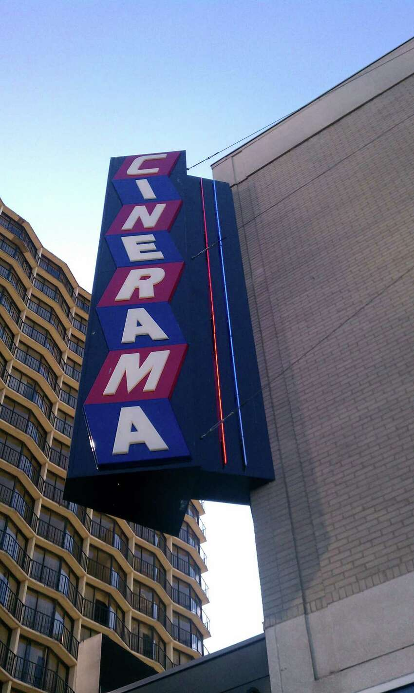 The Cinerama has one of the coolest marquees in Seattle.
