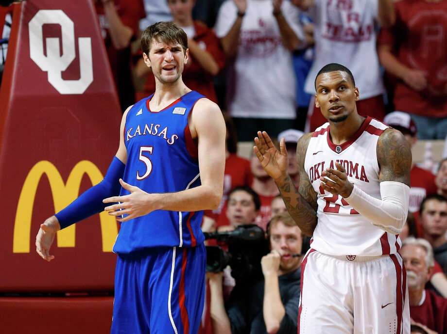 2. Kansas (19-4, 7-3) — Forget the talk about the Jayhawks being the nation's best team or even a top seed. They could tumble to a three or four seed if they don't turn around tailspin quickly. Photo: Sue Ogrocki, Associated Press / AP