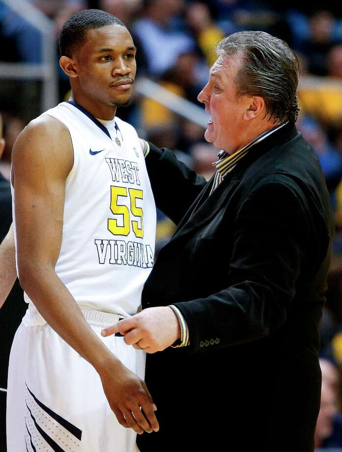 7. West Virginia (12-11, 5-5) — Mountaineers finally are shooting like Huggins expected all season, although it's probably too late. Photo: DAVID SMITH, Associated Press / FR93543 AP