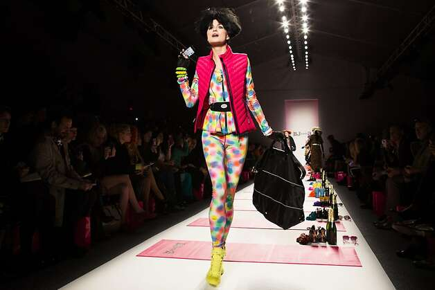The Betsey Johnson Fall 2013 collection is modeled during Fashion Week in New York, Monday, Feb. 11, 2013. (AP Photo/John Minchillo) Photo: John Minchillo, Associated Press