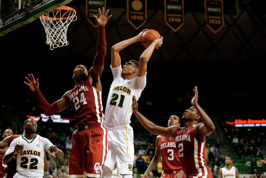 Hot — Baylor C Isaiah Austin:  Notched 13 points and 13 rebounds against Texas Tech. It was his league-leading fifth double-double in conference play this season. Photo: Tony Gutierrez, Associated Press / AP