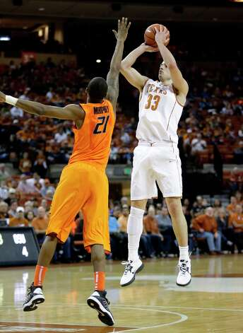 Hot — Texas F Ioannis Papapetrou: Producing 12.8 points, 5.0 rebounds and 2.8 assists in his last five games. Photo: Eric Gay, Associated Press / AP