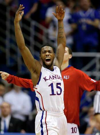 Not — Kansas G Elijah Johnson: Struggling through a miserable 24.3 percent stretch from the field and 23.8 percent from 3-point range in the Jayhawks' losing streak. Photo: Orlin Wagner, Associated Press / AP