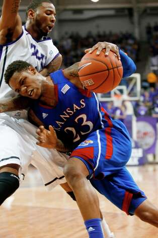 Not — Kansas: The Jayhawks have lost three straight games for the first time since Feb. 14-19, 2005. The last time the Jayhawks lost three in a row to unranked opponents was in 1988, when they won the national championship under Larry Brown. Photo: Sharon Ellman, Associated Press / FR170032 AP