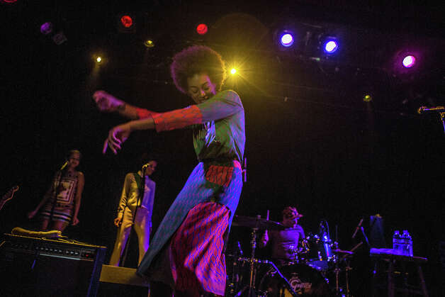 Solange performs at the Independent in San Francisco on February 5, 2013. Photo: Misha Vladimirskiy / Butchershop Creative Archive all rights reserved