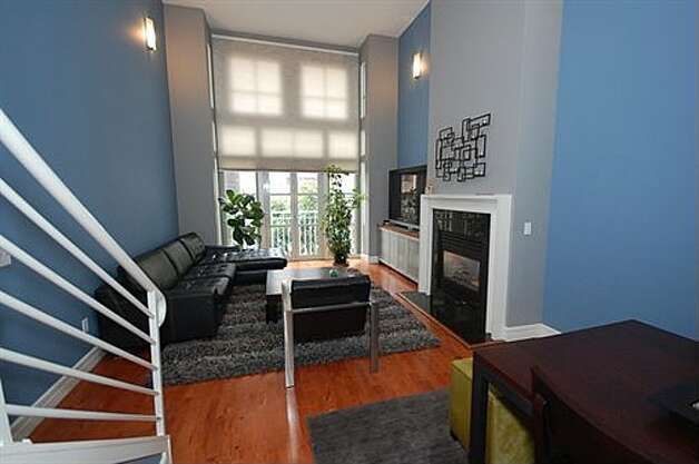 Listed at $499,000, this adorable loft at 545 Leavenworth St., Apt. 7, would be a great place for a nightcap after a night at the SF Opera.