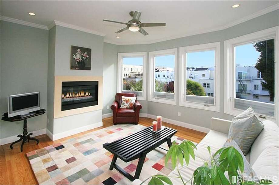 It also has a sitting room with its own fireplace in the master suite.