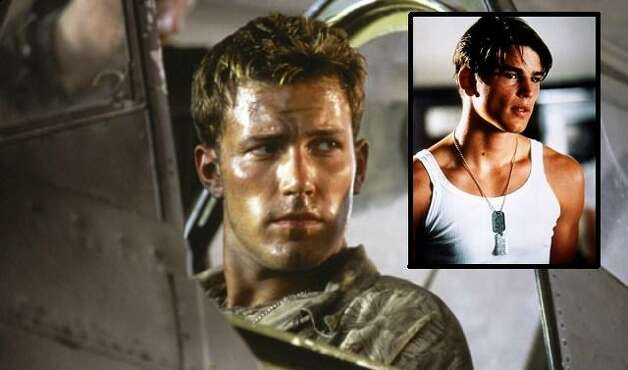 RAFE MCCAWLEY AND DANIEL WALKER (PEARL HARBOR 2001): This is a Michael Bay film, your first warning not to accept it as historical record. While Cuba Gooding Jr.'s Dorie Miller character was based on a real person, McCawley and Walker (Ben Affleck and Josh Hartnett) were invented. / ©Touchstone Pictures/Courtesy Everett Collection