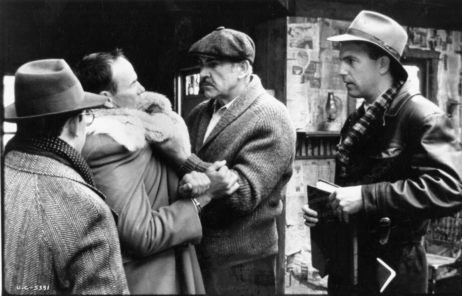 JIM MALONE from THE UNTOUCHABLES (1987): While Eliot Ness was real, his sidekicks were invented for the movie -- all loosely based on one or more members of a larger group of Untouchables. (Sean Connery's advice still stands, though. If they pull a knife, you pull a gun. #TheChicagoWay) Photo: Paramount Pictures / ONLINE_YES