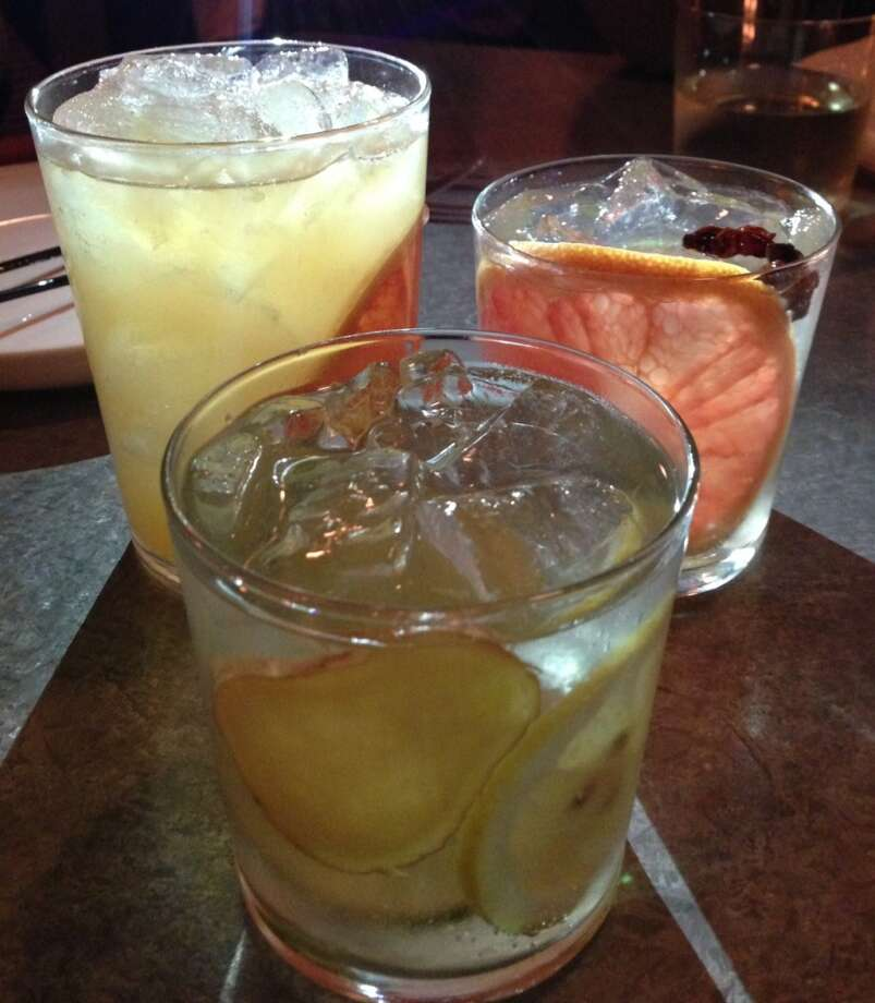 Versions of gin and tonic at Bravas Bar de Tapas in Healdsburg
