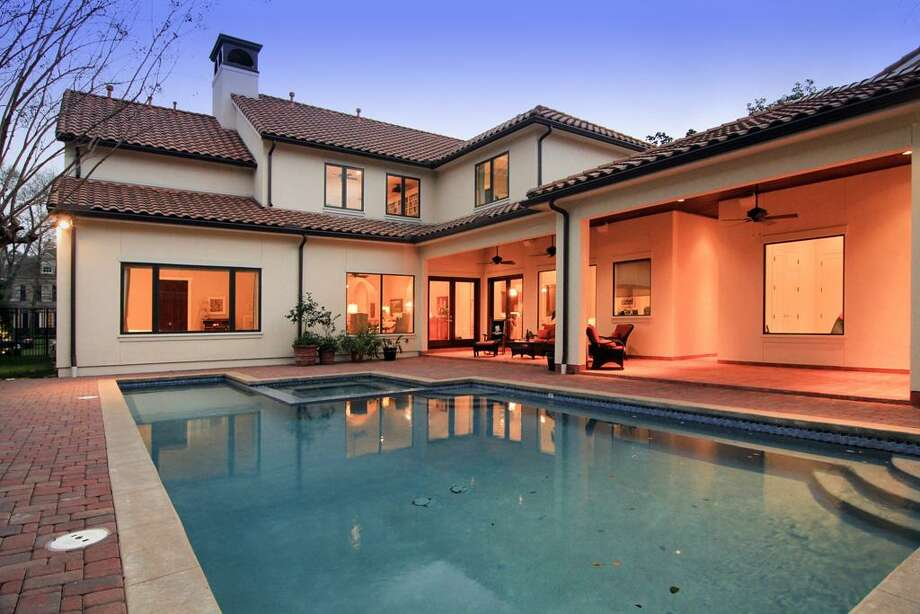 The home features a beautiful pool. Photo: Martha Turner Properties