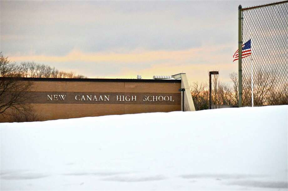 New Canaan Public Schools reopened this morning after a four-day weekend thanks to the blizzard, which dropped 22 inches of snow in town. Photo by Jeanna Petersen Shepard  Feb. 12, 2013 Photo: Freelance Photo