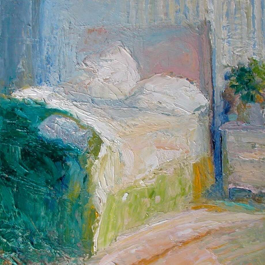 "Catherine Wagner Minnery's ""Spring  Bed #4"" (Albany Center Gallery)"