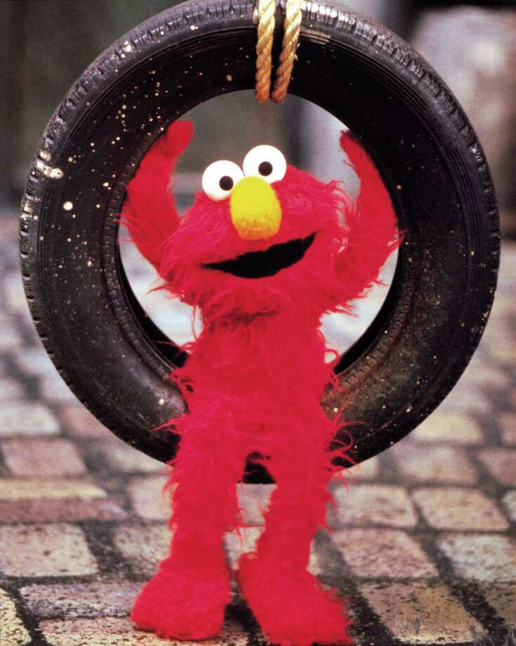 No one could ever wear Elmo. Could they?  Photo: Sesame Workshop C / handout