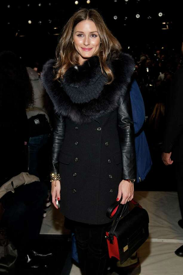 Olivia Palermo attends the Fall 2013 Carolina Herrera Runway Show, on Monday, February 11, 2013 in New York. (Photo by Dario Cantatore/Invision/AP) Photo: Dario Cantatore, INVL / Invision