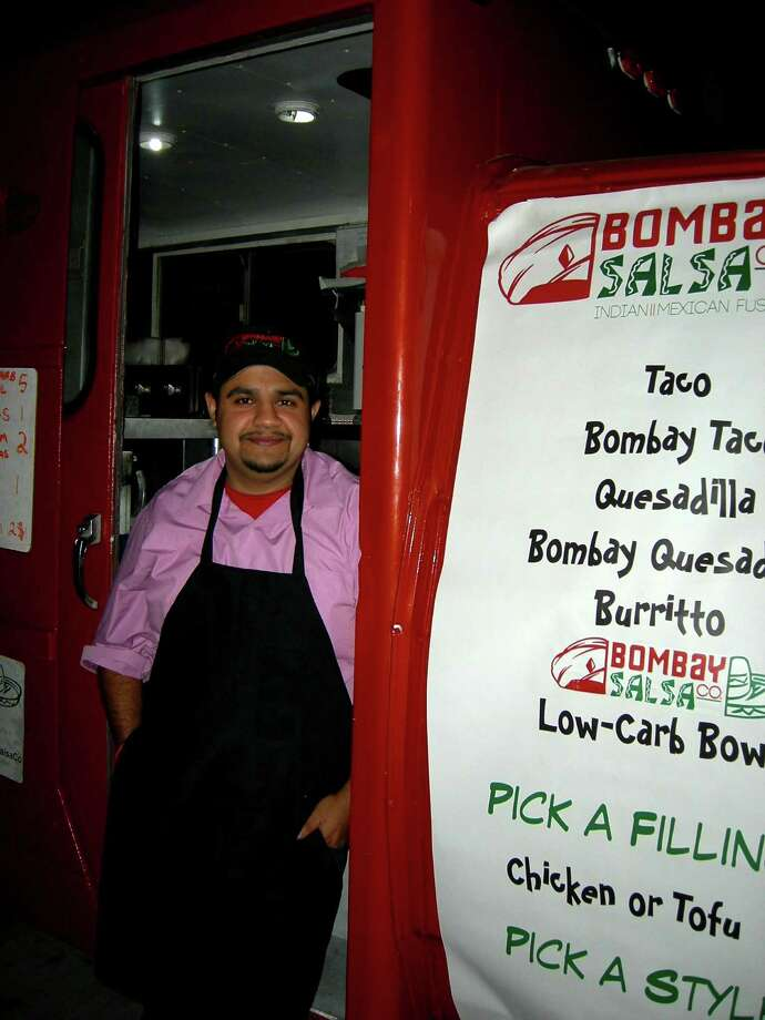 Bombay Salsa CompanyWhat they serve:An Indian and Latin fusion menu Where to find it: Facebook.com/BombaySalsaCo Photo: San Antonio Express-News