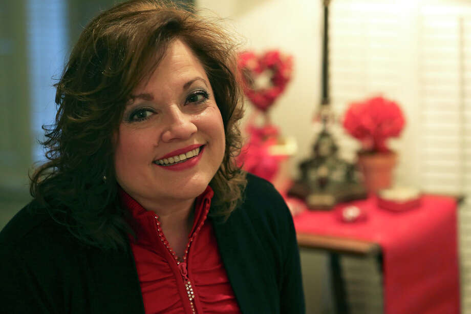 Pat Breheny, winner of the San Antonio Express-News Worst Valentine contest, tells of two disappointing Valentine's Days with the same man. Photo: Tom Reel, San Antonio Express-News / ©2012 San Antono Express-News