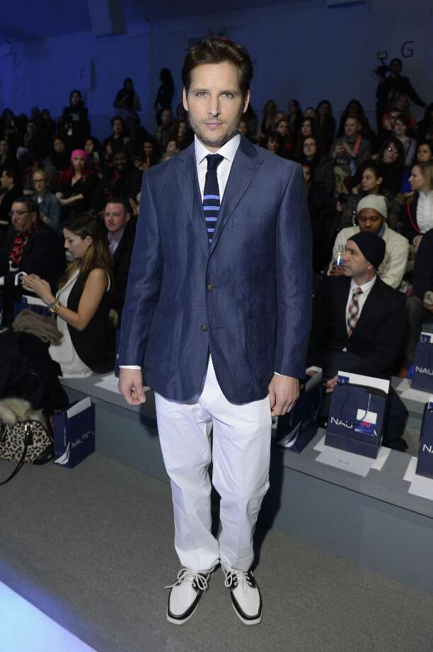 Actor Peter Facinelli attends the Nautica Men's Fall 2013 fashion show during Mercedes-Benz Fashion Week at The Stage at Lincoln Center on February 8, 2013 in New York City.  (Photo by Michael Loccisano/Getty Images for Mercedes-Benz Fashion Week) Photo: Michael Loccisano, (Credit Too Long, See Caption) / 2013 Getty Images