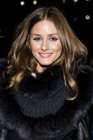 Olivia Palermo attends the Fall 2013 Carolina Herrera Runway Show, on monday, February 11, 2013 in N