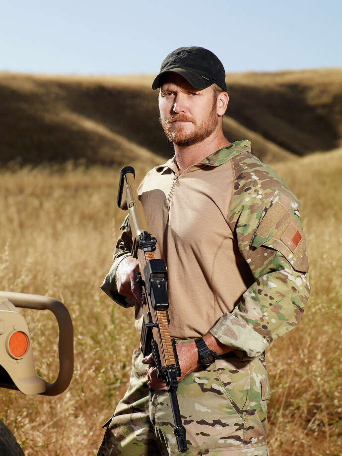 "Former Navy SEAL Chris Kyle in an episode of NBC's ""Stars Earn Stripes."" Photo: NBC, NBCU Photo Bank Via Getty Images / 2012 NBCUniversal Media, LLC"
