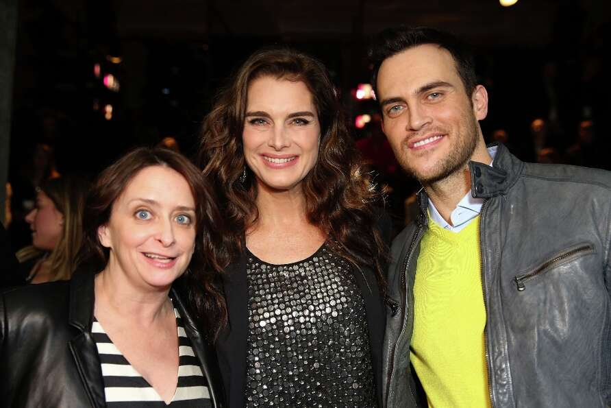 Rachel Dratch, Brooke Shields and Cheyenne Jackson attend the Kenneth Cole Collection Fall 2013 fash