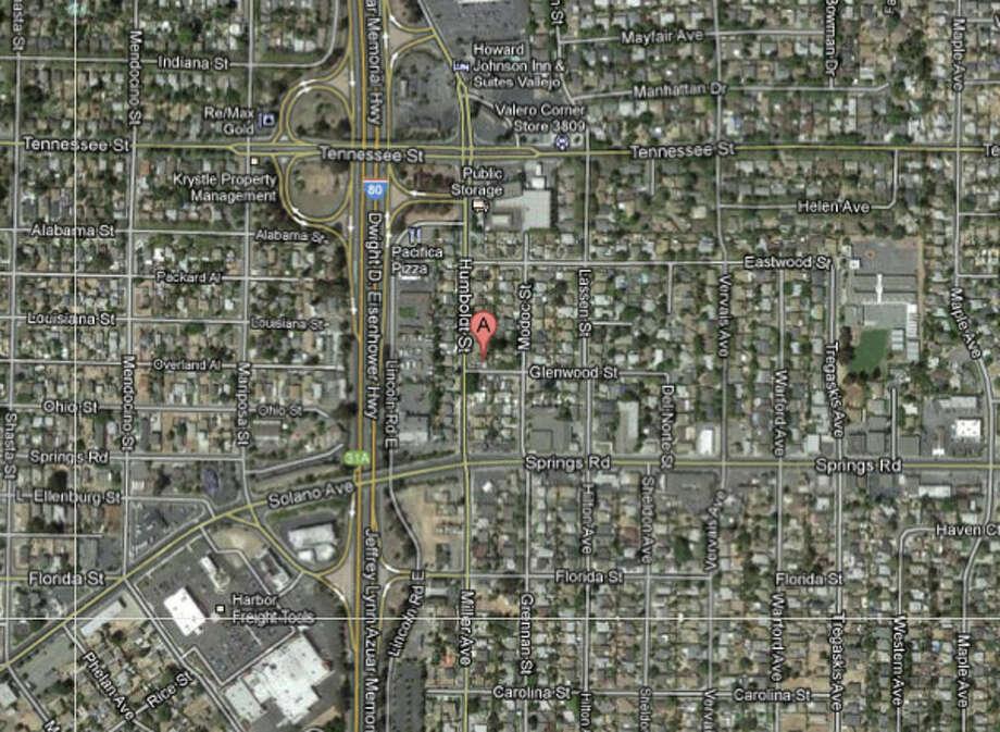 800 block of Humboldt Street, Vallejo, CA Photo: Google Maps