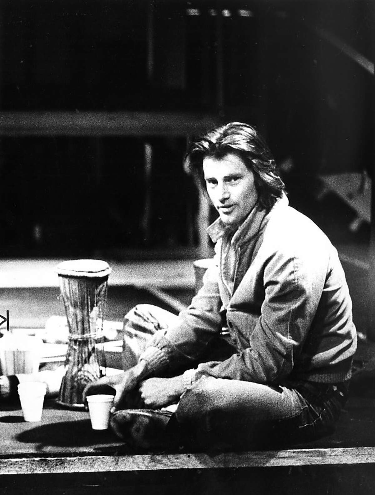 """Playwright Sam Shepard, shown in 1980 just as the Magic Theatre was about to stage the world premire of his play """"True West."""" The year before, he'd won the Pulitzer Prize in drama for """"Buried Child,"""" which also received its premiere at the Magic."""