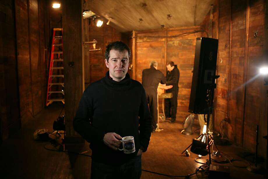 Peter Acworth, owner and CEO of Kink.com, stands for a portrait on a movie set in their office building, on Monday Feb. 23, 2009 in San Francisco, Calif. Acworth says his business is having trouble competing with new websites that are giving content away for free. Photo: Mike Kepka, The Chronicle