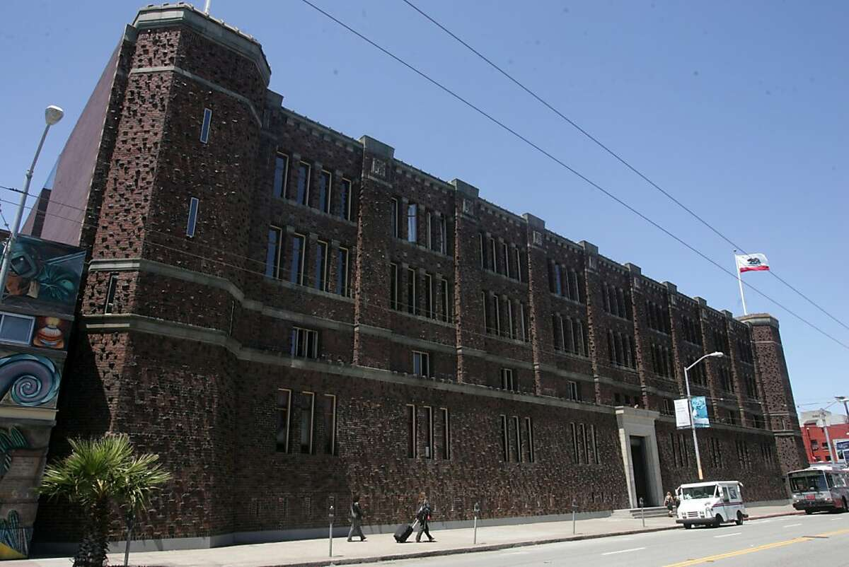 The armory building on Mission St. is a favorite edifice of some locals.